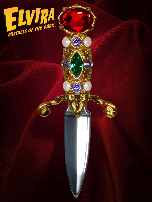 Elvira's Dagger Prop Replica