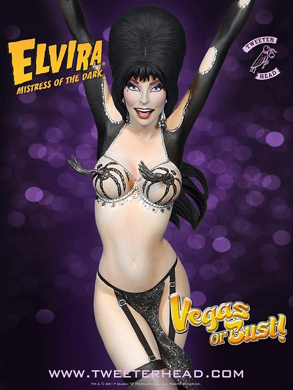 """Elvira """"Vegas or Bust"""" Maquette"""