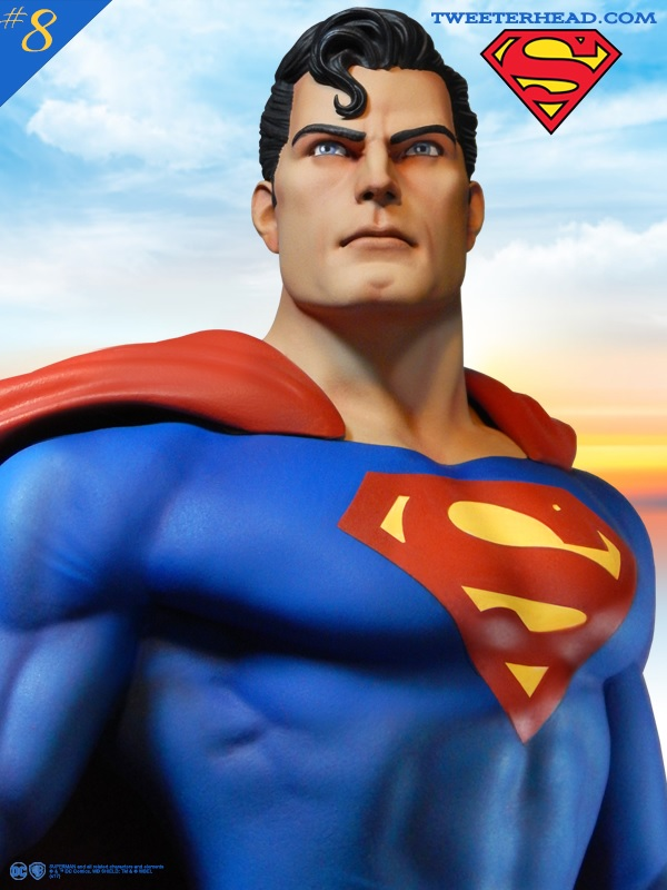 Super Powers REG Superman Maquette