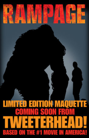Rampage Teaser Maquette