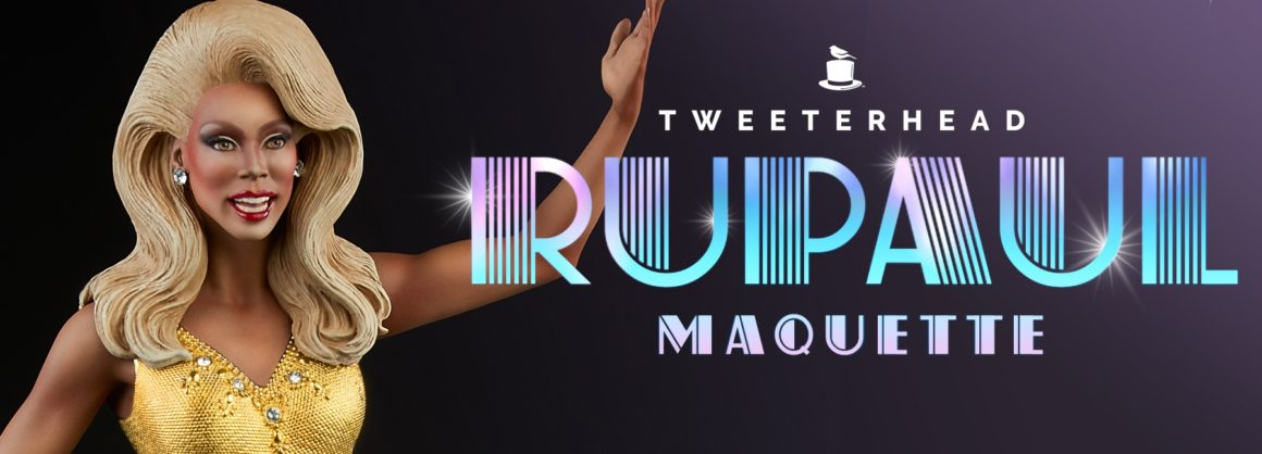 RuPaul Gold Maquette