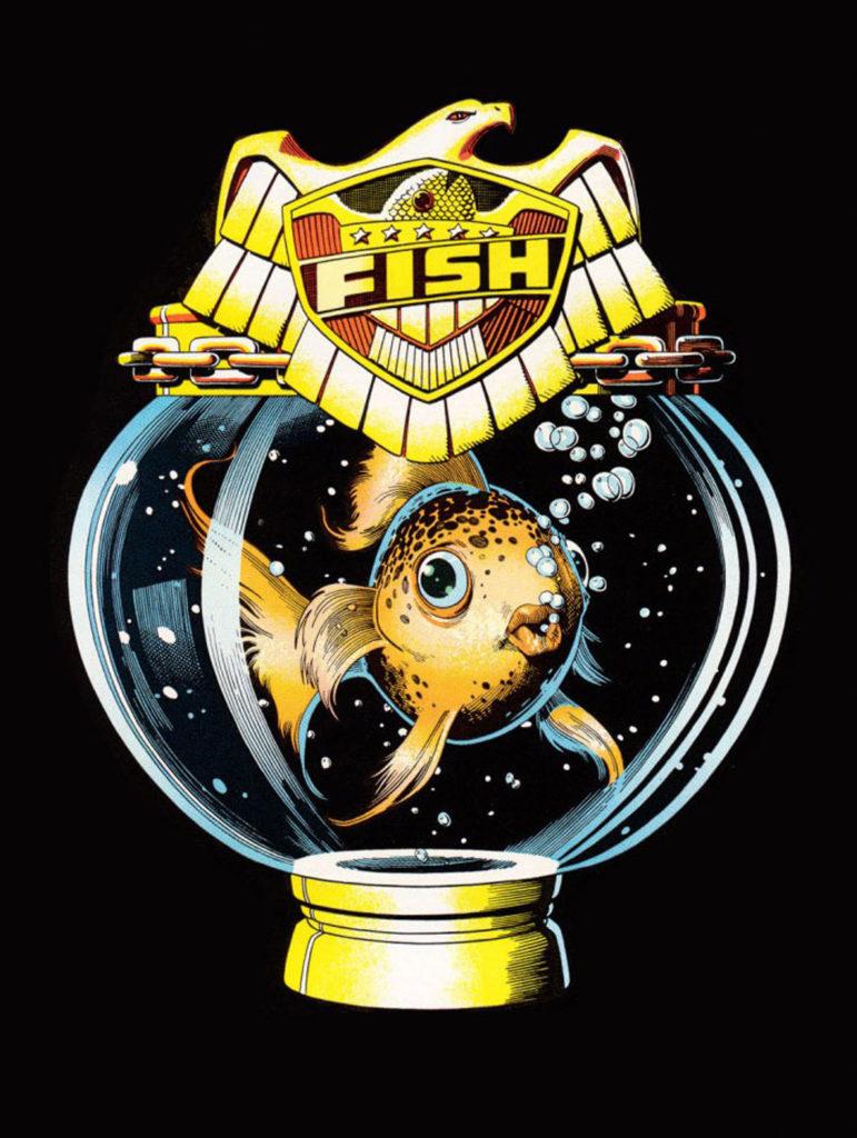 2000 AD Fish Maquette