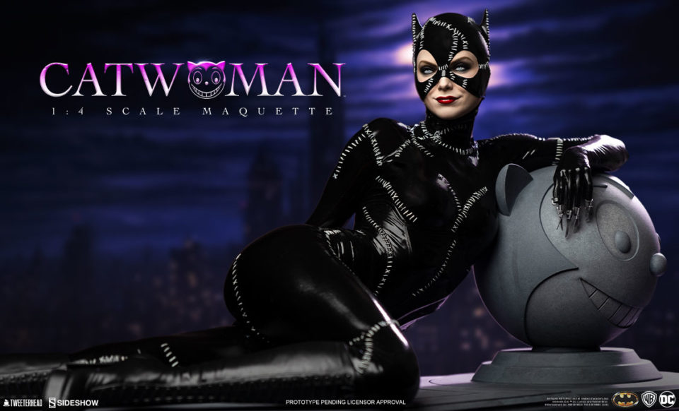 Tweeterhead Catwoman Maquette