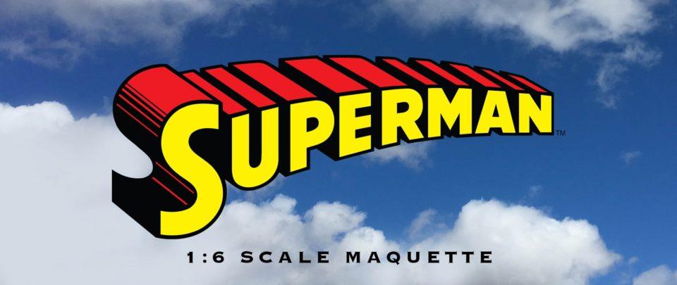 Superman 1:6 maquette