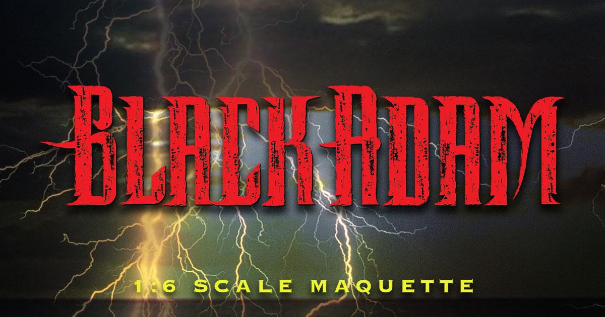 Black Adam 1:6 maquette RSVP