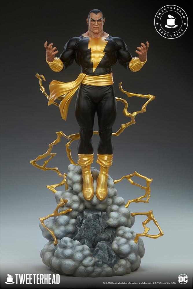 Black Adam 1/6 Scale Statue BlackAdam_EX_001