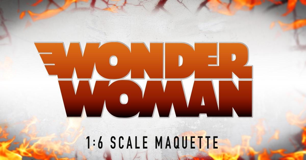 Wonder Woman 1:6 scale Maquette